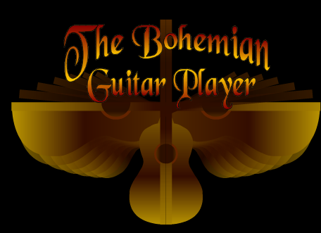The Bohemian Guitar Player logo